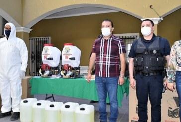 San Ignacio Sinaloa Refuerza Medidas Sanitizantes contra Covid – 19