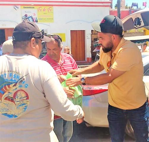 José Uruídez Brinda Apoyos a Pulmoneros de Mazatlán Covid 19 2020 2