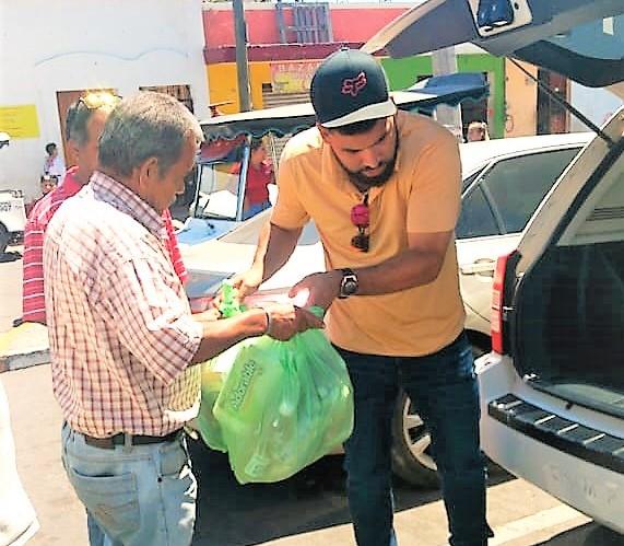José Uruídez Brinda Apoyos a Pulmoneros de Mazatlán Covid 19 2020 3