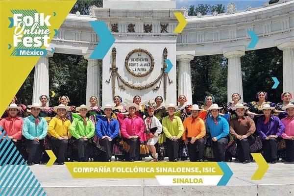La Compañía Folclórica Sinaloense, en el Folk Online Fest Sinaloa 2020 1