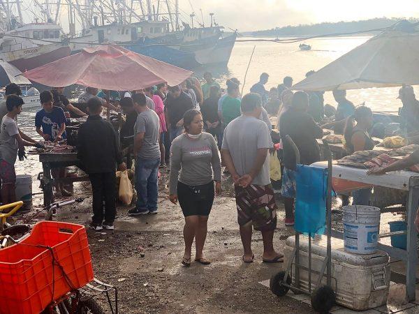 Llamado a Prestar Orientación a Puesteros del Mercado de Mariscos del Muelle de la Isla de la Piedra de Mazatlán Covid- 19 2020 (4)