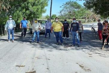 En Piaxtla de Abajo realizan jornada de limpieza para Prevenir Covid – 19