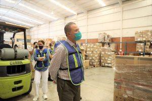 Quirino Ordaz Entrega Materiales de Protección y Médicos a Hospitales de Sinaloa Contingencia Covid 19 2020 1
