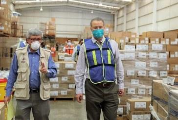 El Gobernador Quirino Ordaz Coppel entrega insumos y equipo médico a hospitales de Sinaloa