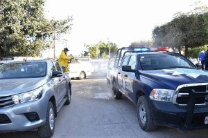 Sanitiza La Cruz Elota Zona Trópico Sinaloa Coronavirus 2020 2