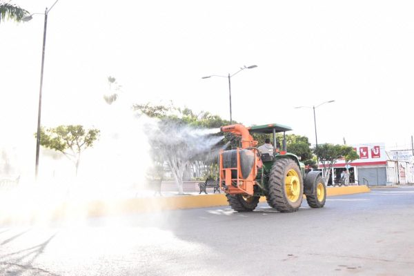 Sanitiza La Cruz Elota Zona Trópico Sinaloa Coronavirus 2020 (2)
