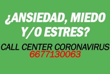 Ofrece DIF Sinaloa apoyo emocional vía telefónica.