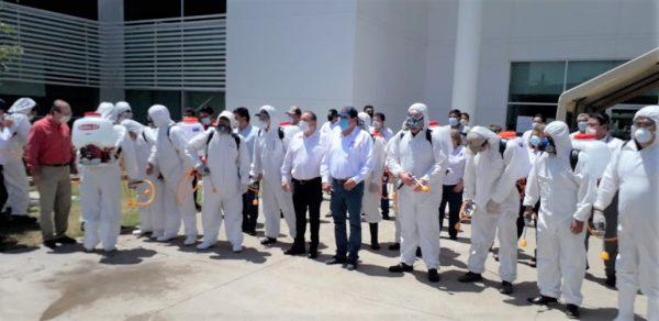 Sinaloa Programa de Sanitización Total COEPRIS Coronavirus Covid 19 2020 2