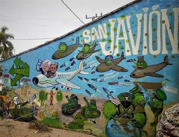Testamento de Judas en San Javier Zona Trópico en épocas del Coronavirus 2020 3