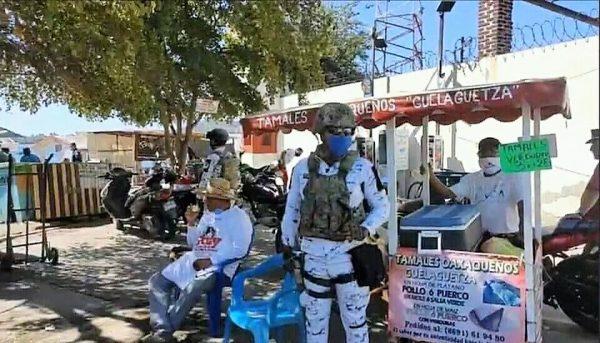 Y llega la Guardia Nacional a Poner Orden en Cuanto Prevención Covid 19
