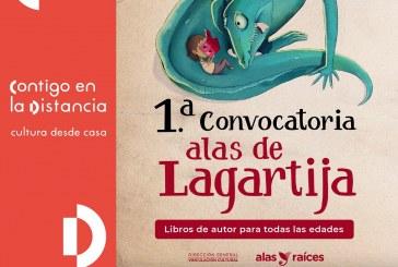 Lanzan convocatorias de creación literaria y  obra gráfica Alas de Lagartija y Las otras tintas.