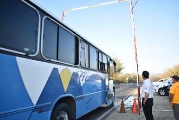 Sanitización general de vehículos que entran a Concordia