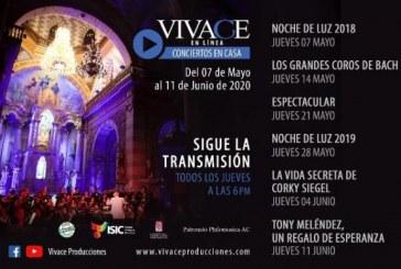 Todos los jueves programa Vivace en línea