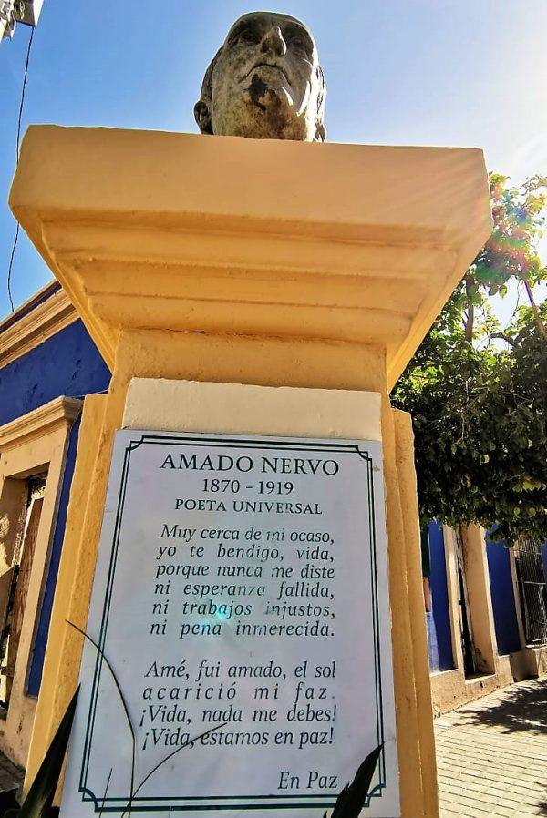 Amado Nervo 101 Aniversario de su Fallecimiento 2020 1 en Mazatlán 2