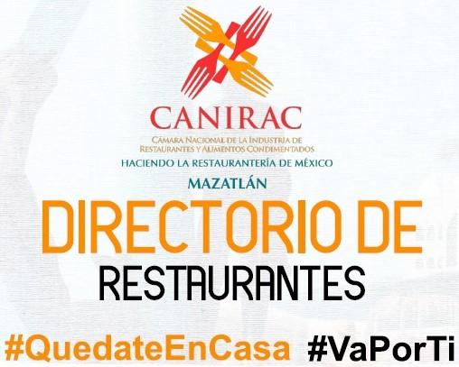 Directorio Restaurantes Covid 19 Quédate en Casa