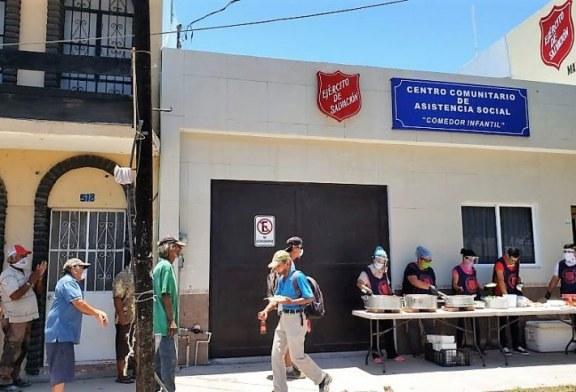 Solicita Apoyo El Ejército de Salvación Mazatlán Centro