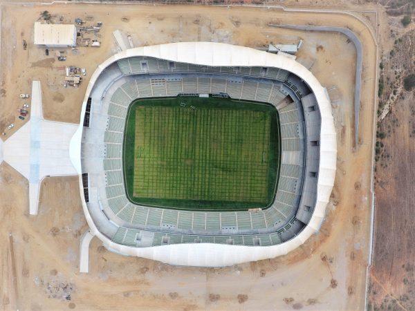 Estadio de Futbol de Mazatlán Previo Terminación 2020 2