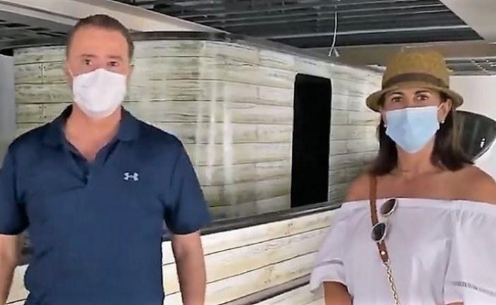 Quirino Ordaz Coppel y Rosy Fuentes de Ordaz Supervisan el CICM En Mazatlán