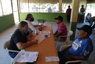 Inician con el censo para apoyar a pesacadores Personal de DIF San Ignacio continúa trabajando