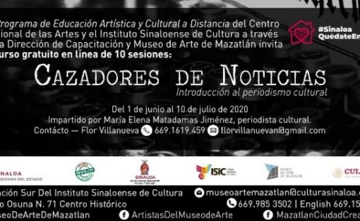 """""""Cazadores de Noticias. Introducción al Periodismo Cultural"""