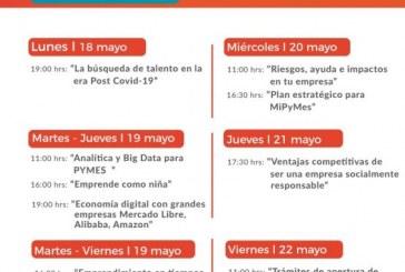 "Continúan con su capacitación a través de ""Webinar Puro Sinaloa"""