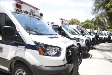 Quirino entrega 8 ambulancias para atención y contención del COVID 19