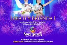 """Libia II y Brianda I revivirán los mejores momentos de """"Somos América"""" en el programa Cultura en tu Casa."""