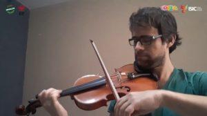 4.- Xavier Tortosa Teruel, principal de los violines segundos en la OSSLA