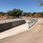 70% de avance colector pluvial Los Mezcales en Culiacán
