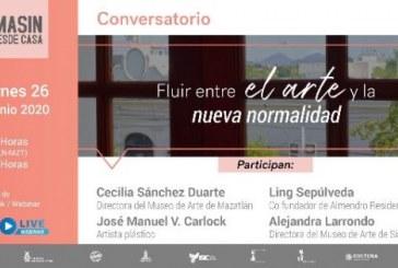 Conversatorio Fluir entre el arte y la nueva normalidad