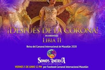 Libia II Reina del Carnaval 2020 abrirá su corazón