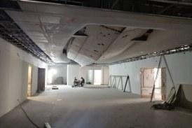 90 % de avance, edificio del centro de innovación y Cultura en Mazatlán