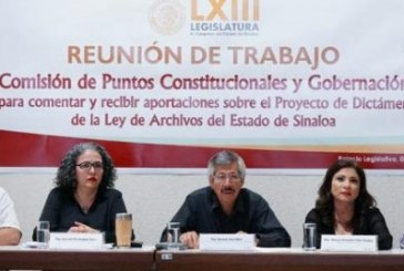 12 días para que Sinaloa apruebe su Ley de Archivos