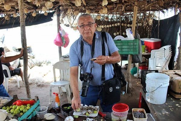 Hector en Fiestas del Mar en Teacapán 2019