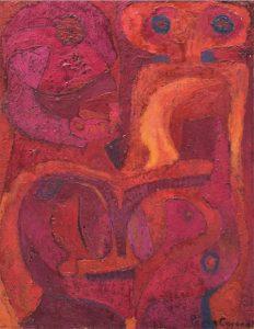 Hilo de luz- París 1961- Pedro Coronel - pieza para rompecabezas