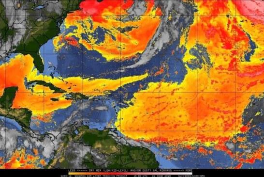 """Pa´acabarla de: El """"Polvo del Sahara"""" en Sinaloa domingo y lunes señala CENAPRED"""