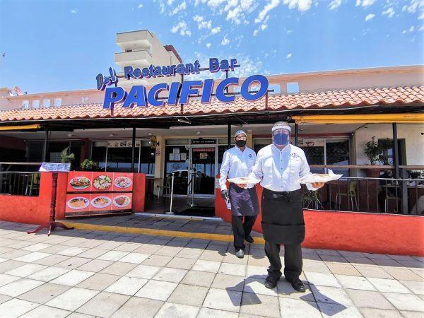 Restaurante del Pacífico Mazatlán Covid - 19