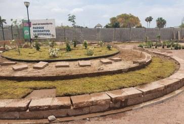 """Segunda etapa del parque recreativo cultural """"La reforma"""" avanza al 85%"""