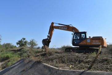 Banderazo de inicio a los trabajos de rehabilitación de drenes