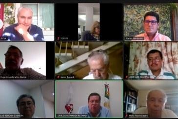 Carlos Gandarilla comparte implementación de la Agenda 2030 con Asesores Inmobiliarios de Sinaloa