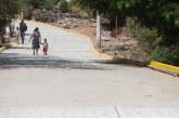 Quirino cumple los compromisos hechos en Cosalá