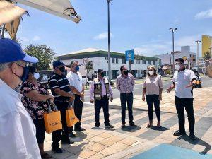 Óscar Pérez Barros Actividades el Primer Día de Apertura Turística en Mazatlán Julio 1 2020 2