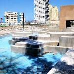 Parque Central de Mazatlán presenta un 85% de Avance en su Construcción