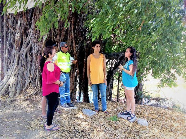 Bióloga. Eunice Murúa del CIAD. AC El Gran Árbol Fraccionamiento Jacarandas Mazatlán 2020 1