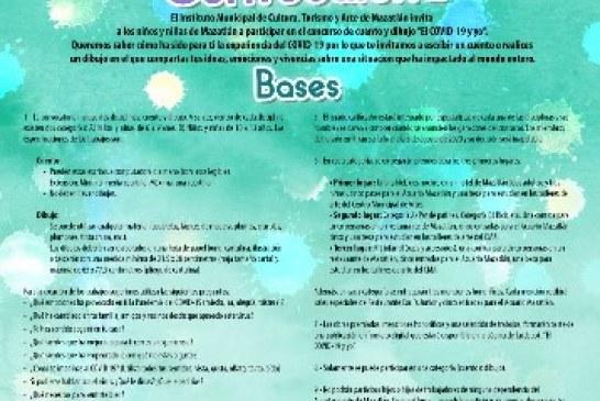 """Concurso de cuento y dibujo infantil """"El COVID-19 y yo"""