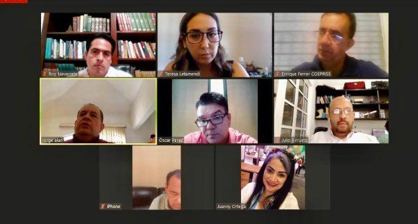 Reunión Tema Charters Turísticos Mazatlán 2020