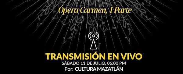 Sábados de Ópera en Mazatlán Carmen 2020