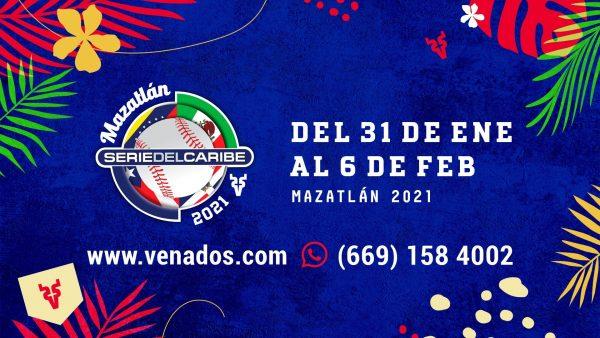 Serie del Caribe Mazatlán Fechas 2021