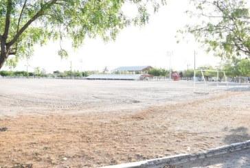 Reaperturan campos deportivos en Elota
