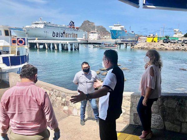 Óscar Pérez Barros Actividades el Primer Día de Apertura Turística en Mazatlán Julio 1 2020 3